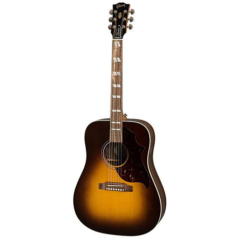 Westerngitarre Gibson Hummingbird Studio Walnut Burst
