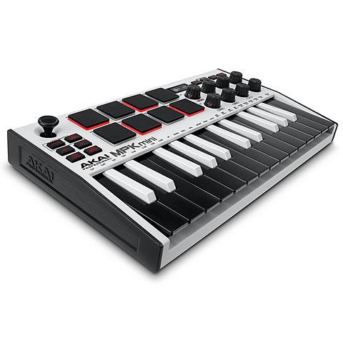 Clavier maître Akai MPK Mini MK3 White