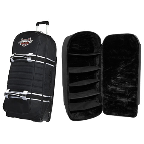 Accessoire batterie électronique AHead Armor Medium E-Drum Bag with Wheels and Inlay