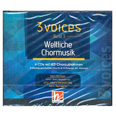 Helbling 3 Voices - Weltliche Chormusik (4-CD-Box) « CD