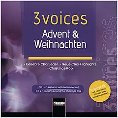Helbling 3 Voices - Advent & Weihnachten (Doppel-CD) « CD