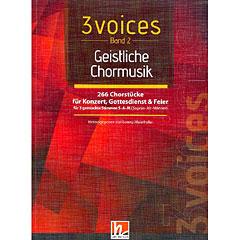 Helbling 3 Voices - Geitsliche Chormusik « Chornoten