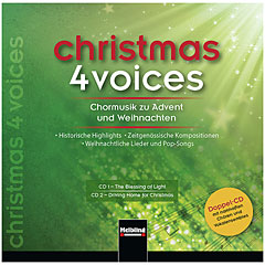 Helbling Christmas 4 Voices (Doppel-CD) « CD