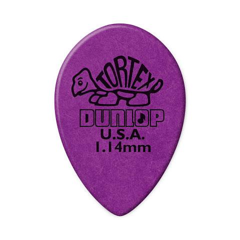 Plektrum Dunlop Tortex Small Teardrop 1,14 mm (36 pcs)
