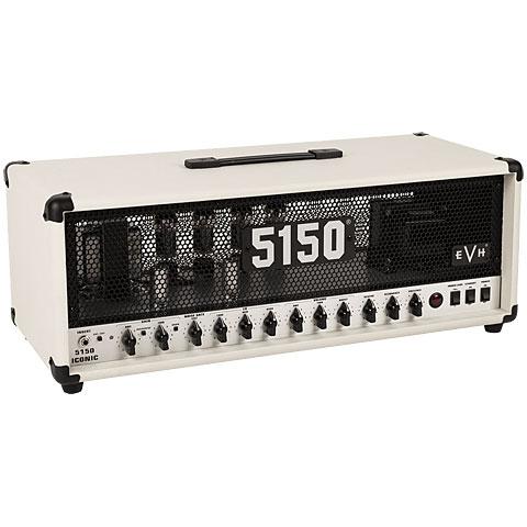 Cabezal guitarra EVH 5150 Iconic Series 80 Watt Ivory