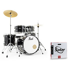 """Pearl Roadshow 20"""" Jet Black with Solar Cymbals « Schlagzeug"""