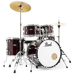 "Pearl Roadshow 20"" Red Wine with Solar Cymbals « Schlagzeug"