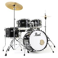 """Pearl Roadshow 18"""" Jet Black with Solar Cymbals « Schlagzeug"""