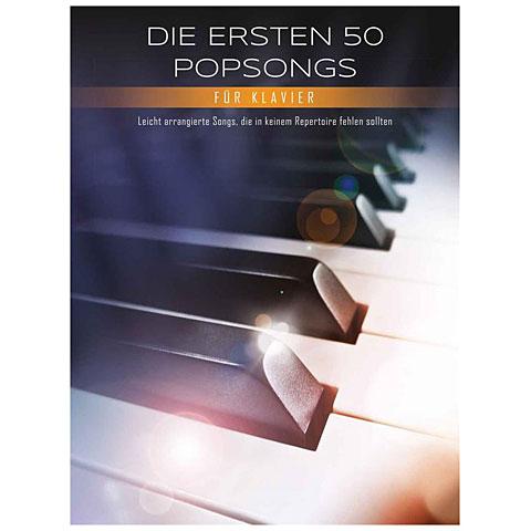 Libro de partituras Bosworth Die ersten 50 Popsongs für Klavier