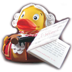 Bosworth The Mozart Rubber Duck « Figura