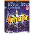Notenbuch De Haske Hören, lesen & spielen 1 - Weihnachten für Klarinette