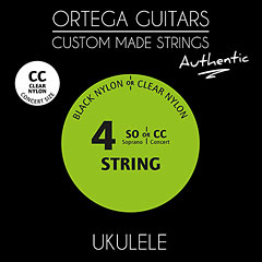 Ortega Authentic UKA-CC « Cordes pour instrument à corde