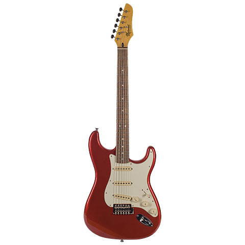 Electric Guitar Redwood S-Style Classic RW CAR
