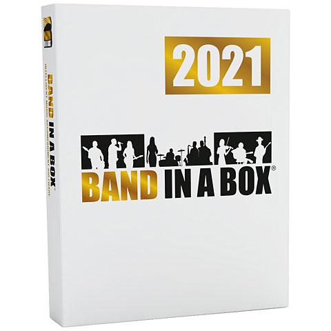 Arranger-software PG Music Band In A Box Pro 2021 Mac German