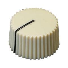 T.A.D. Fender Style Barrel Knob Cream White