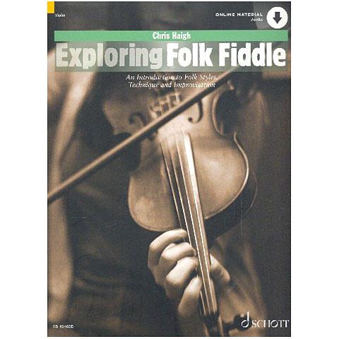 Leerboek Schott Exploring Folk Fiddle