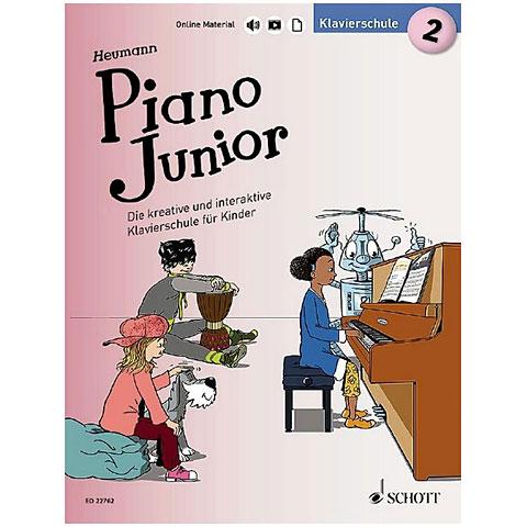 Leerboek Schott Piano Junior Bd.2