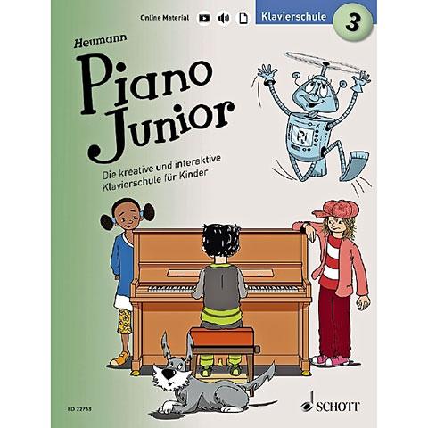 Instructional Book Schott Piano Junior Bd.3