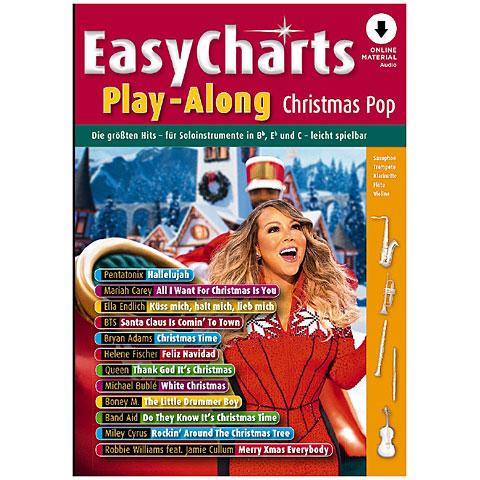 Songbook Schott Easy Charts Christmas Pop