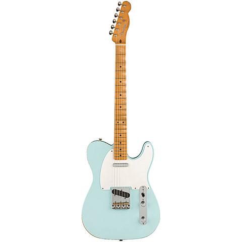 Fender Roadworn Vintera 50s Tele Maple SBL « Elektrische Gitaar