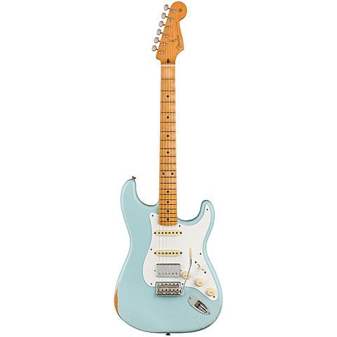 Fender Roadworn Vintera 50s Strat MN SBL ltd. Edition « Elektrische Gitaar
