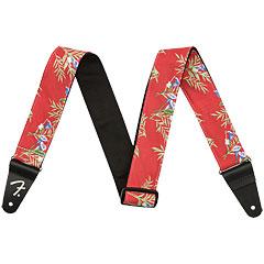 Fender Hawaiian Strap Red Floral
