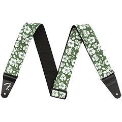 Fender Hawaiian Strap Green Floral