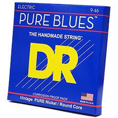 DR Strings Pure Blues PHR-9/46 Lite to Medium .009-046 « Saiten E-Gitarre