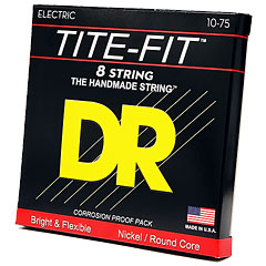 DR Strings Tite-Fit TF8-10 8-String Medium .010-075 « Saiten E-Gitarre