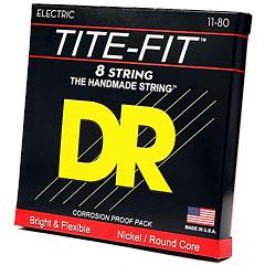 DR Strings Tite-Fit TF8-11 8-String Extra Heavy .011-080 « Saiten E-Gitarre