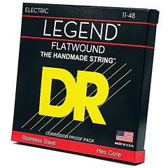 DR Strings Legend Flat Wound FL-11 Extra Lite « Saiten E-Gitarre