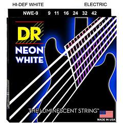 DR Strings Neon Hi-Def White Electric NWE-9 Lite « Saiten E-Gitarre