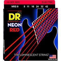 DR Strings Neon Hi-Def Red NRE-9 Lite « Saiten E-Gitarre