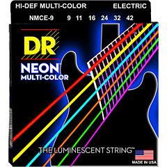 DR Strings Neon Hi-Def Multi-Color NMCE-9  Lite « Saiten E-Gitarre