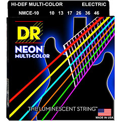 DR Strings Neon Hi-Def Multi-Color NMCE-10 Medium « Saiten E-Gitarre