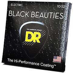 DR Strings Black Beauties BKE-10/52  Big-Heavy « Saiten E-Gitarre