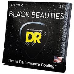 DR Strings Black Beauties BKE-12 Extra Heavy « Saiten E-Gitarre