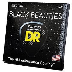 DR Strings Black Beauties BKE7-11  7-String Extra Heavy « Saiten E-Gitarre