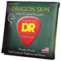 DR Strings Dragon Skin DSA-11  Custom Lite « Saiten Westerngitarre