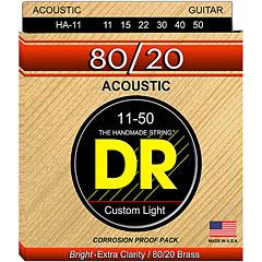 DR Strings 80/20 Custom Light HA-11 « Saiten Westerngitarre