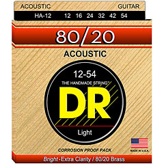 DR Strings 80/20 HA-12  Light « Saiten Westerngitarre