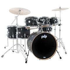 pdp Concept Maple Finish Ply CM7 Satin Black Shellset « Drumstel