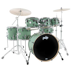 pdp Concept Maple Finish Ply CM7 Satin Seafoam Shellset « Schlagzeug