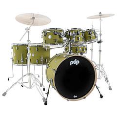 pdp Concept Maple Finish Ply CM7 Satin Olive Shellset « Drumstel
