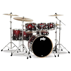 pdp Concept Maple CM7 Red to Black Fade Shellset « Drumstel
