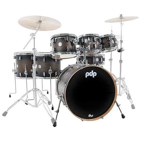 Drum Kit pdp Concept Maple CM7 Satin Charcoal Burst Shellset