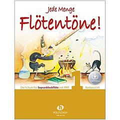 Holzschuh Jede Menge Flötentöne! 1 - Die Schule für Sopranblockflöte mit Pfiff (mit Audio-Download) « Leerboek