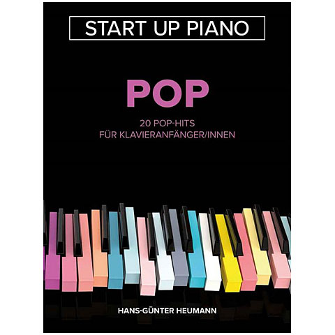 Music Notes Bosworth Start Up Piano - Pop