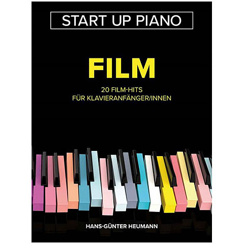 Notenbuch Bosworth Start Up Piano - Film