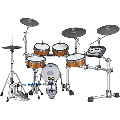 E-Drum Set Yamaha DTX10K-M Real Wood with Mesh Heads